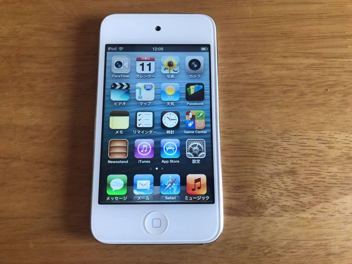 iPod touch 第4世代 32GB 中古 動作します。_画像3