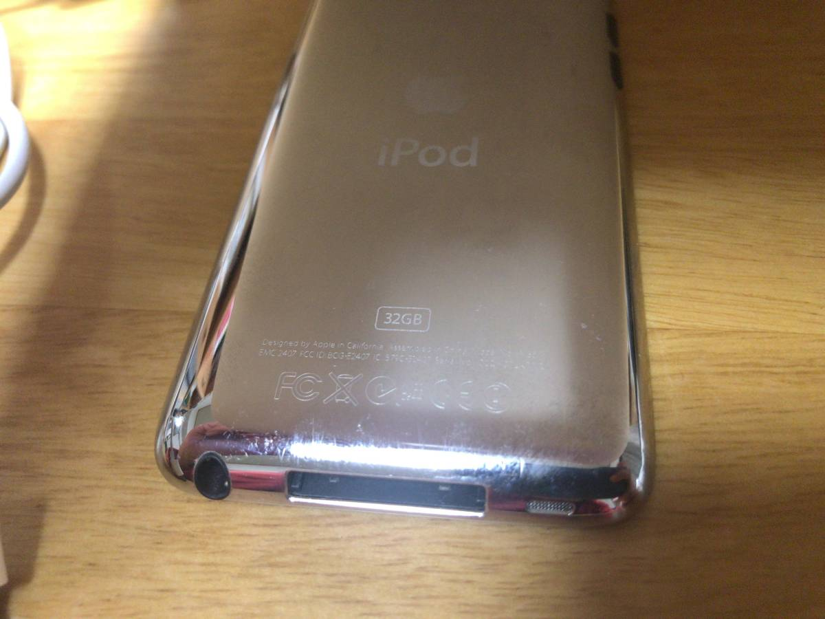 iPod touch 第4世代 32GB 中古 動作します。_画像7
