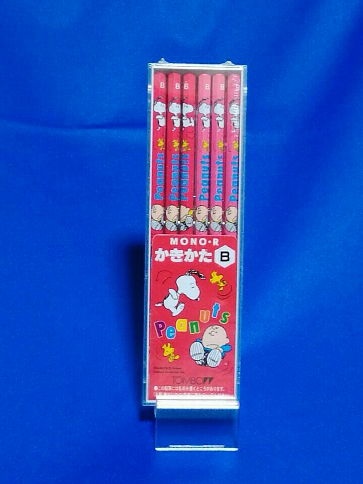 【新品】スヌーピー(SNOOPY)★ピーナッツ(PEANUTS)★MONO-R鉛筆/B/12本入り トンボ鉛筆