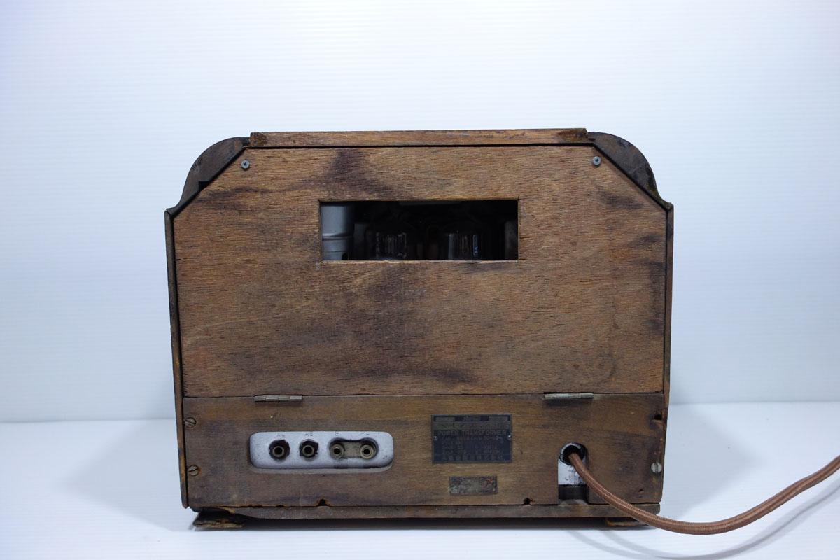 真空管ラジオ ヘルメス受信機 P-4型 ジャンク [Hermes][大阪電圧機器]_画像3