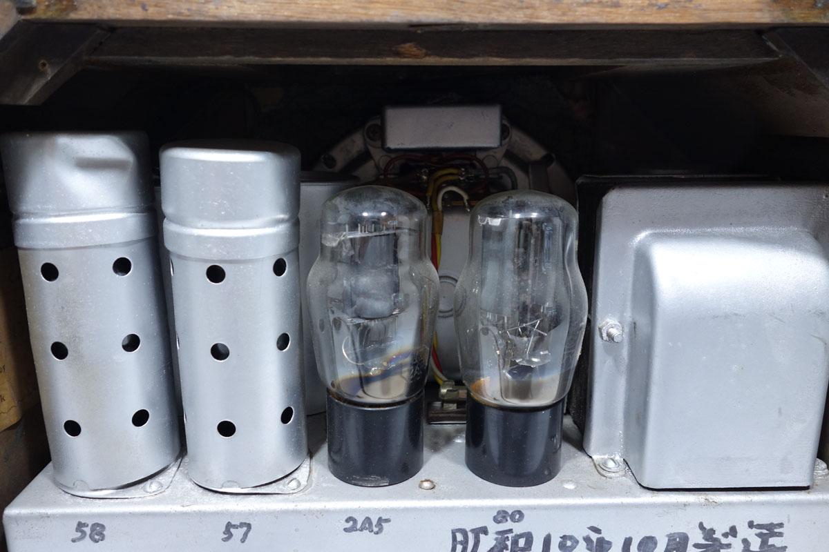 真空管ラジオ ヘルメス受信機 P-4型 ジャンク [Hermes][大阪電圧機器]_画像5