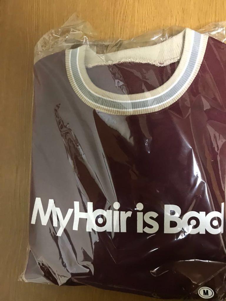 マイヘアーイズバッド My Hair is Bad スウェット 赤 新品 未使用 Mサイズ ライブ ギャラクシーホームランツアー 検パーカー マイヘア