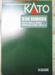 KATO 10-1246 東急電鉄 5050系 4000番台 10両セット