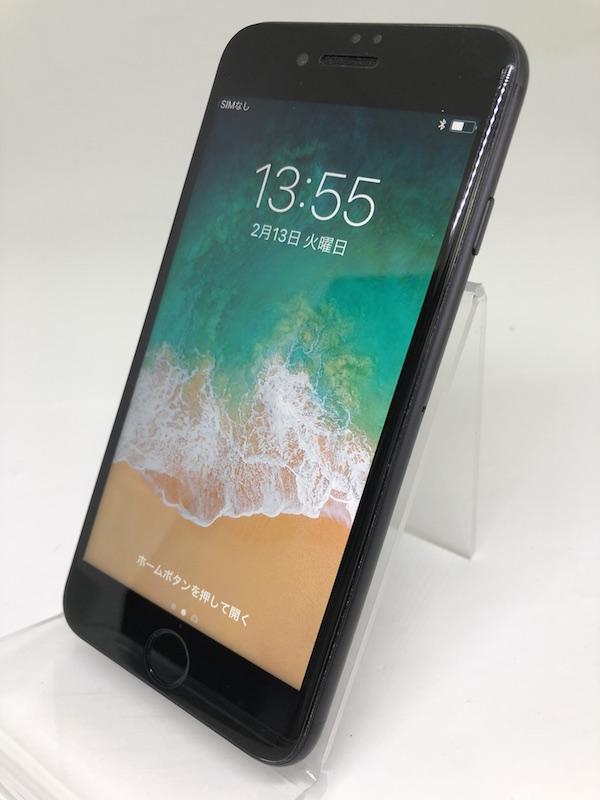 ★ [中古美品] iPhone7 ブラック 黒 256GB 国内版SIMフリー NNCQ2J/A 強化ガラスフィルム装着済み_画像2
