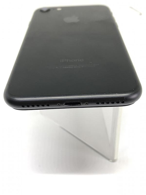 ★ [中古美品] iPhone7 ブラック 黒 256GB 国内版SIMフリー NNCQ2J/A 強化ガラスフィルム装着済み_画像10