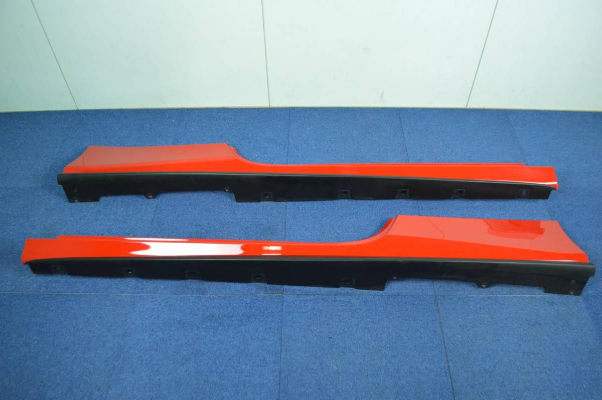 【希少良好】フェラーリ 488 GTB 純正 サイドスカート サイドステップ 左右セット ロッソコルサ ferrari sideskirt 086612000 086612300_画像1