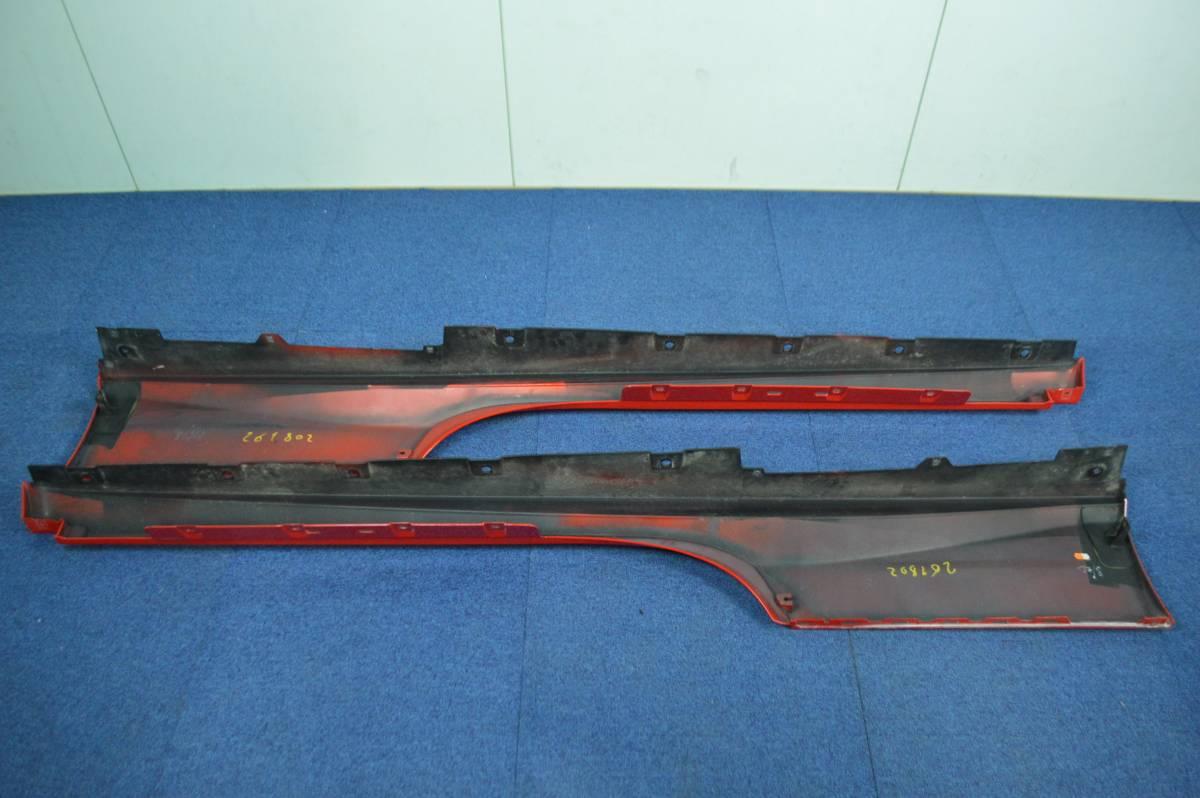 【希少良好】フェラーリ 488 GTB 純正 サイドスカート サイドステップ 左右セット ロッソコルサ ferrari sideskirt 086612000 086612300_画像3