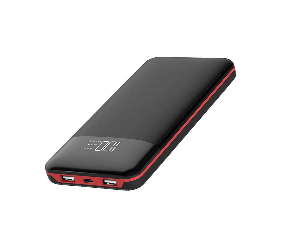 【新品】大容量モバイルバッテリー 24000mah 1回フル充電で iPhone Android6回 iPad2回充電可能 2台の同時充電可能