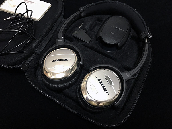Bose QuietComfort 3 Acoustic Noise Cancelling headphones ノイズキャンセリングヘッドホン QuietComfort3-S USED品