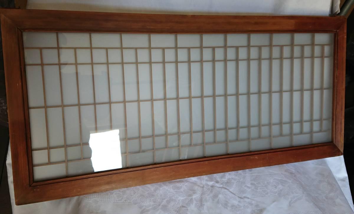 アンティーク 古民具 曇りガラス 昭和 レトロ 引き戸 古民家 W-1380_画像7