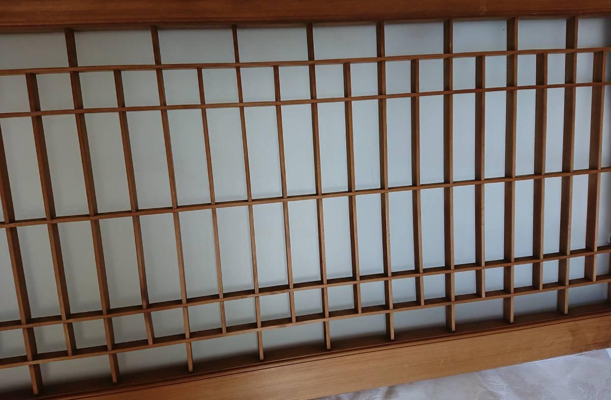 アンティーク 古民具 曇りガラス 昭和 レトロ 引き戸 古民家 W-1380_画像6