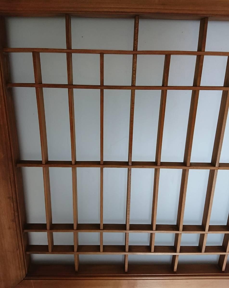 アンティーク 古民具 曇りガラス 昭和 レトロ 引き戸 古民家 W-1380_画像5