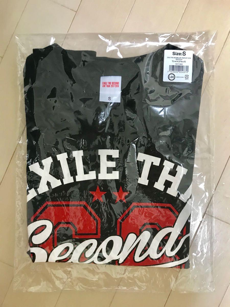 EXILE THE SECOND LIVE TOUR 2017-2018 ROUTE6.6 ツアーTシャツ黒ブラック1回のみ使用Sサイズ
