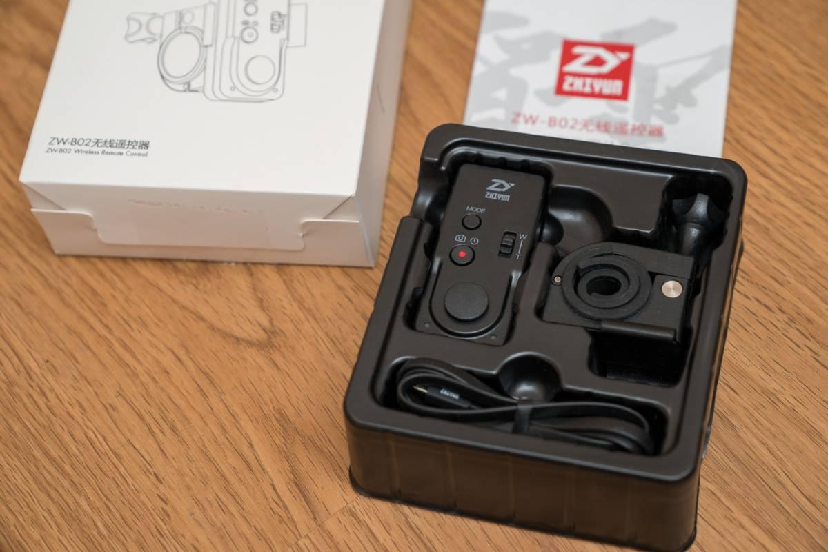 ■新同品 Zhiyun ZW-B02 ワイヤレスリモコン