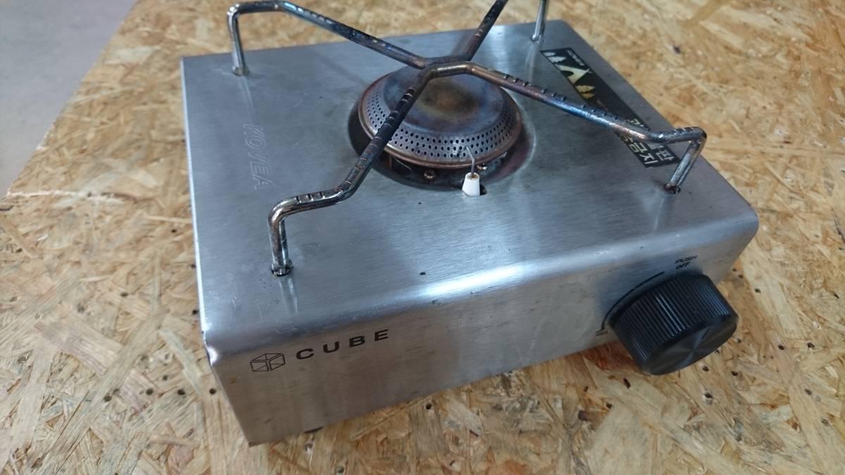 コベア キューブ KOVEA カセットコンロ キャンプコンロ シングルバーナー_画像9