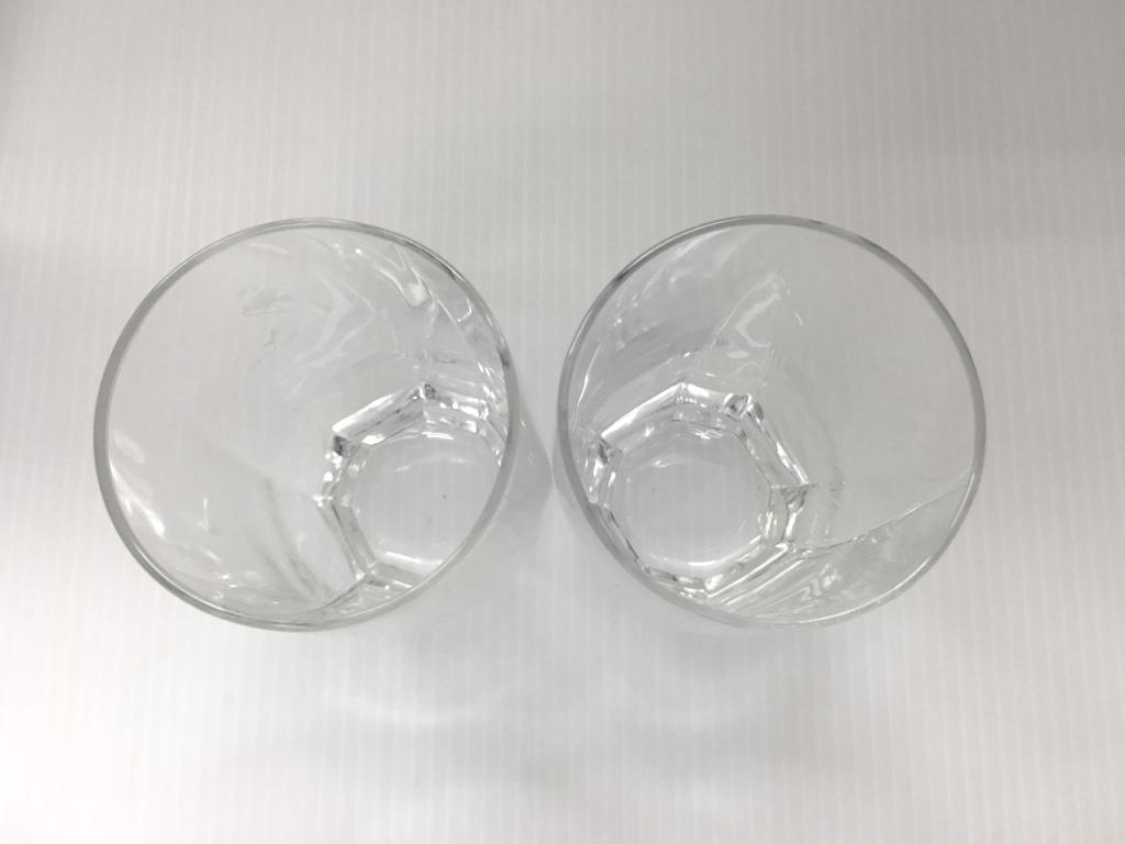 美品●JOHNIE WAKER ジョニーウォーカー タンブラー ガラス グラス コップ カップ 管理1802_画像6
