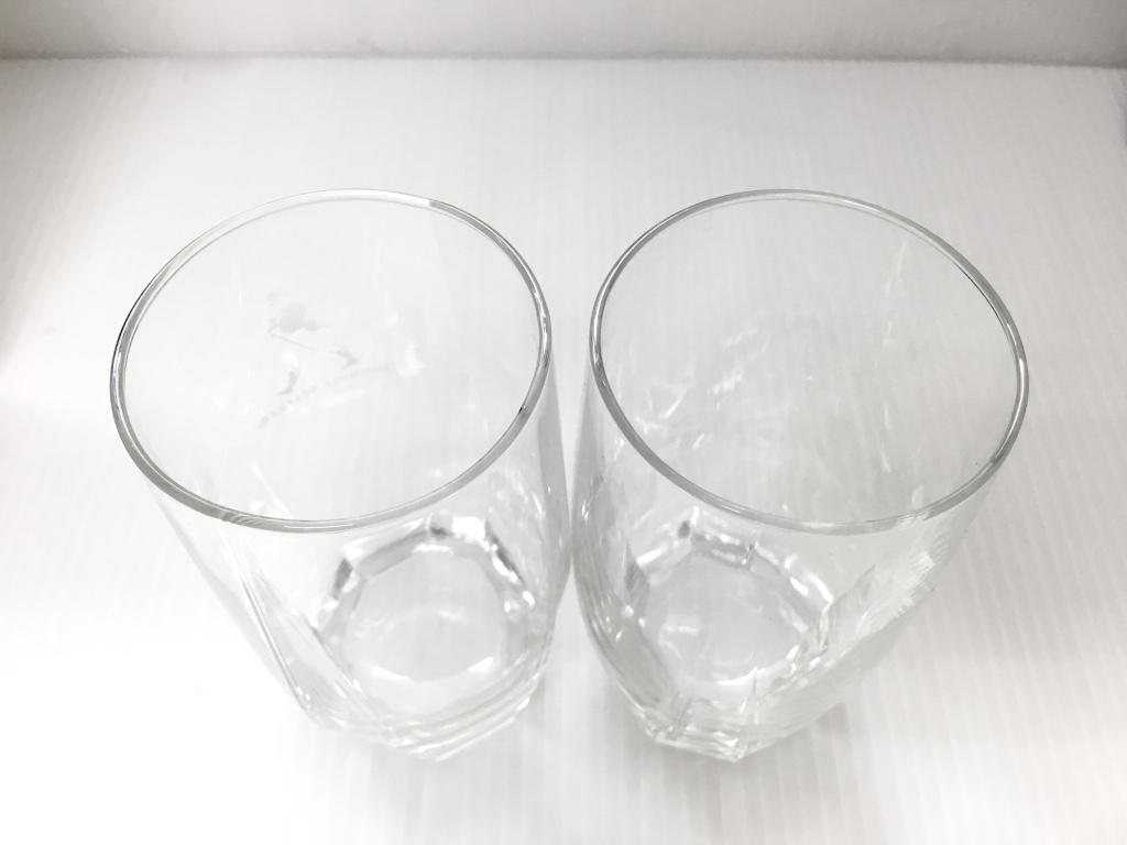 美品●JOHNIE WAKER ジョニーウォーカー タンブラー ガラス グラス コップ カップ 管理1802_画像5