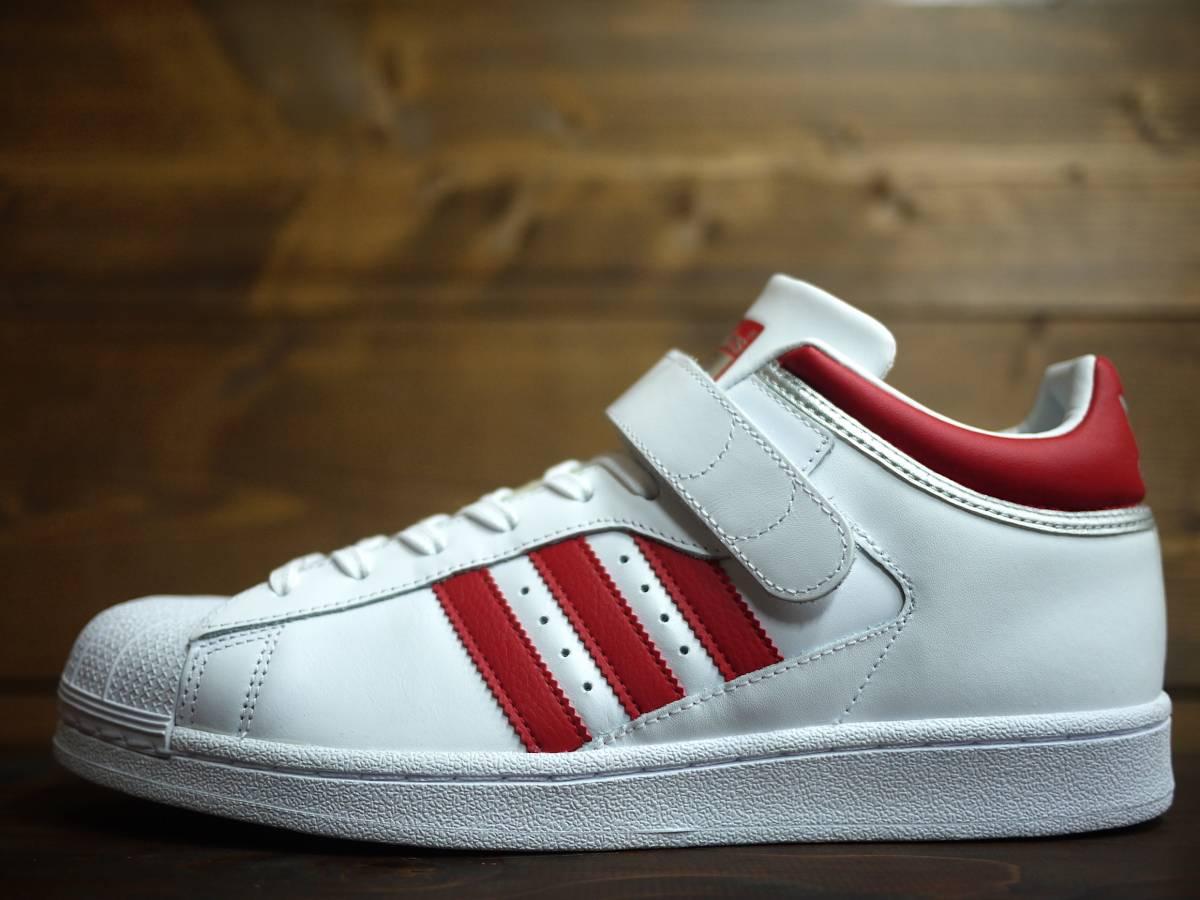 regular genuine article adidas Originals Pro Shell Adidas Originals Pro  shell White Scarlet Metallic 2004d3bc1597