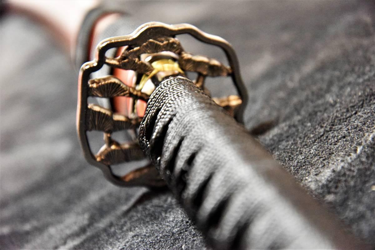 送料無料◆大迫力の薩摩拵え国産模造刀 _画像2