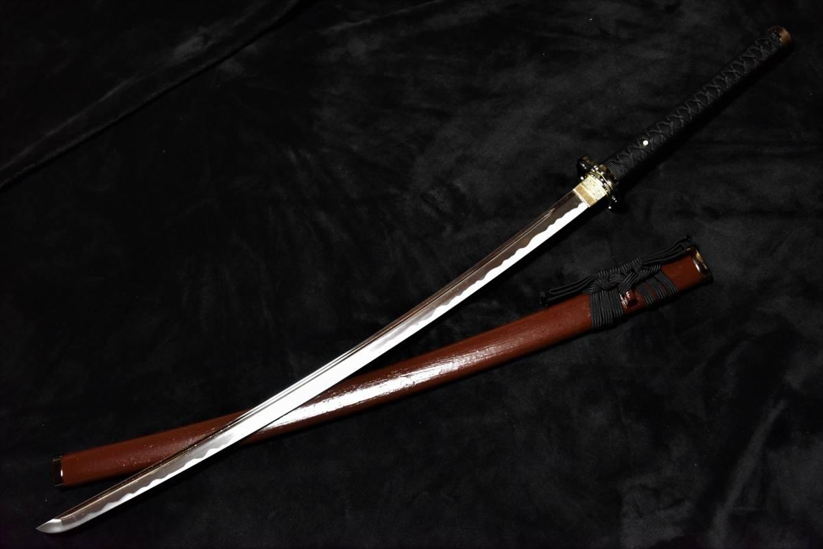 送料無料◆大迫力の薩摩拵え国産模造刀 _画像4