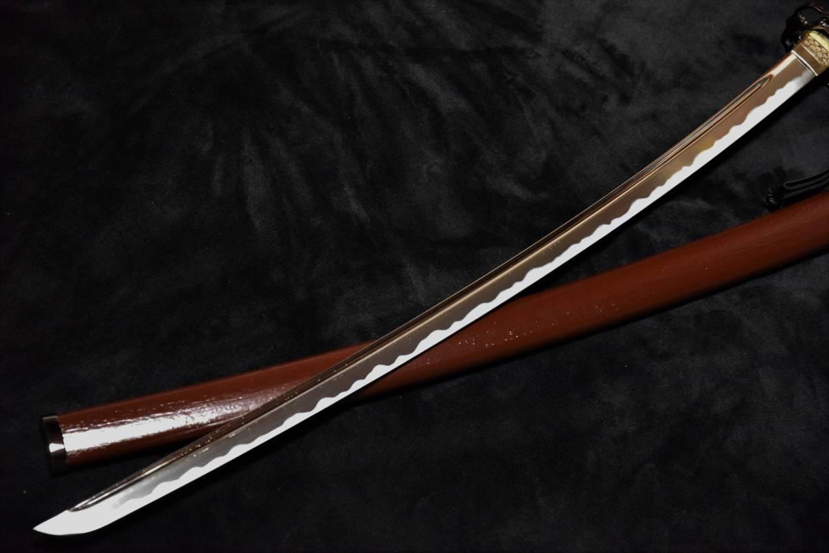 送料無料◆大迫力の薩摩拵え国産模造刀 _画像5