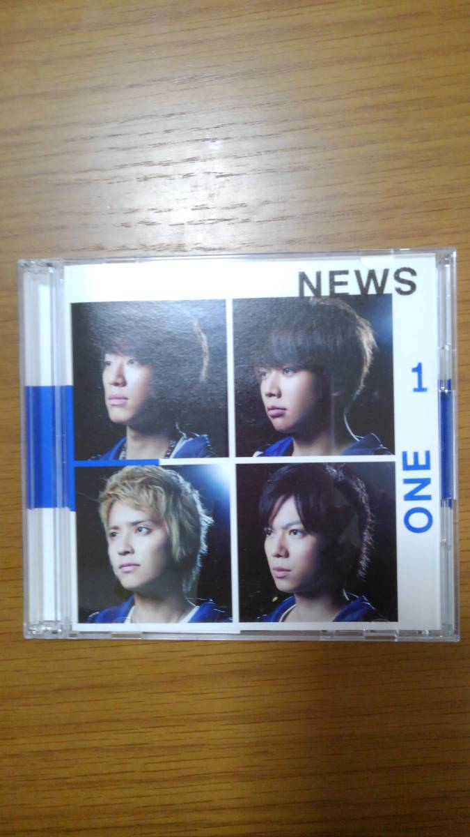 NEWS CD ONEーfor the win 初回盤A