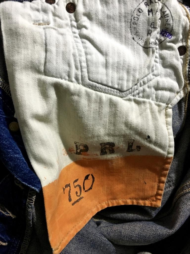 ☆Ralph Lauren ラルフローレン BOOTCUT ブーツカット デニムパンツ ジーンズ W34 ダメージ加工 PRL 正規品 フレア ベルボトム RRL_画像8