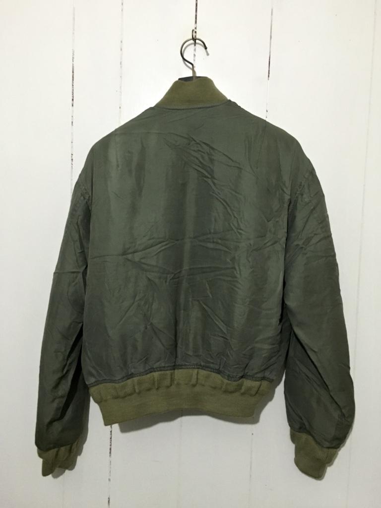 ☆DOG FIGHT ドッグファイト MA-1 リバーシブルジャケット キルティングジャケット カーキ 緑 1 フライトジャケット_画像2