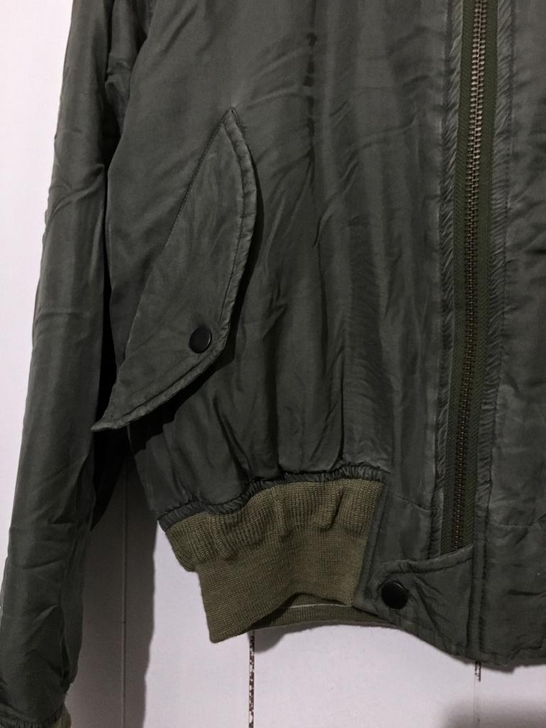 ☆DOG FIGHT ドッグファイト MA-1 リバーシブルジャケット キルティングジャケット カーキ 緑 1 フライトジャケット_画像5