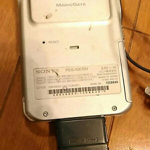 シャープ ws016sh sony clie ジャンク ソニー PDA_画像4
