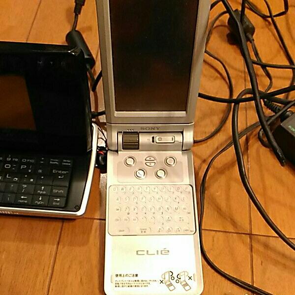 シャープ ws016sh sony clie ジャンク ソニー PDA_画像3