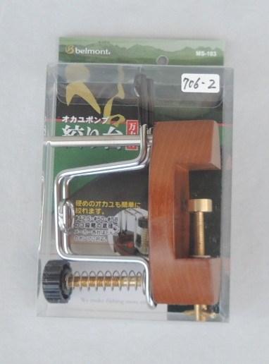 ベルモント MS-103 ポンプ絞り台万力付き_画像2