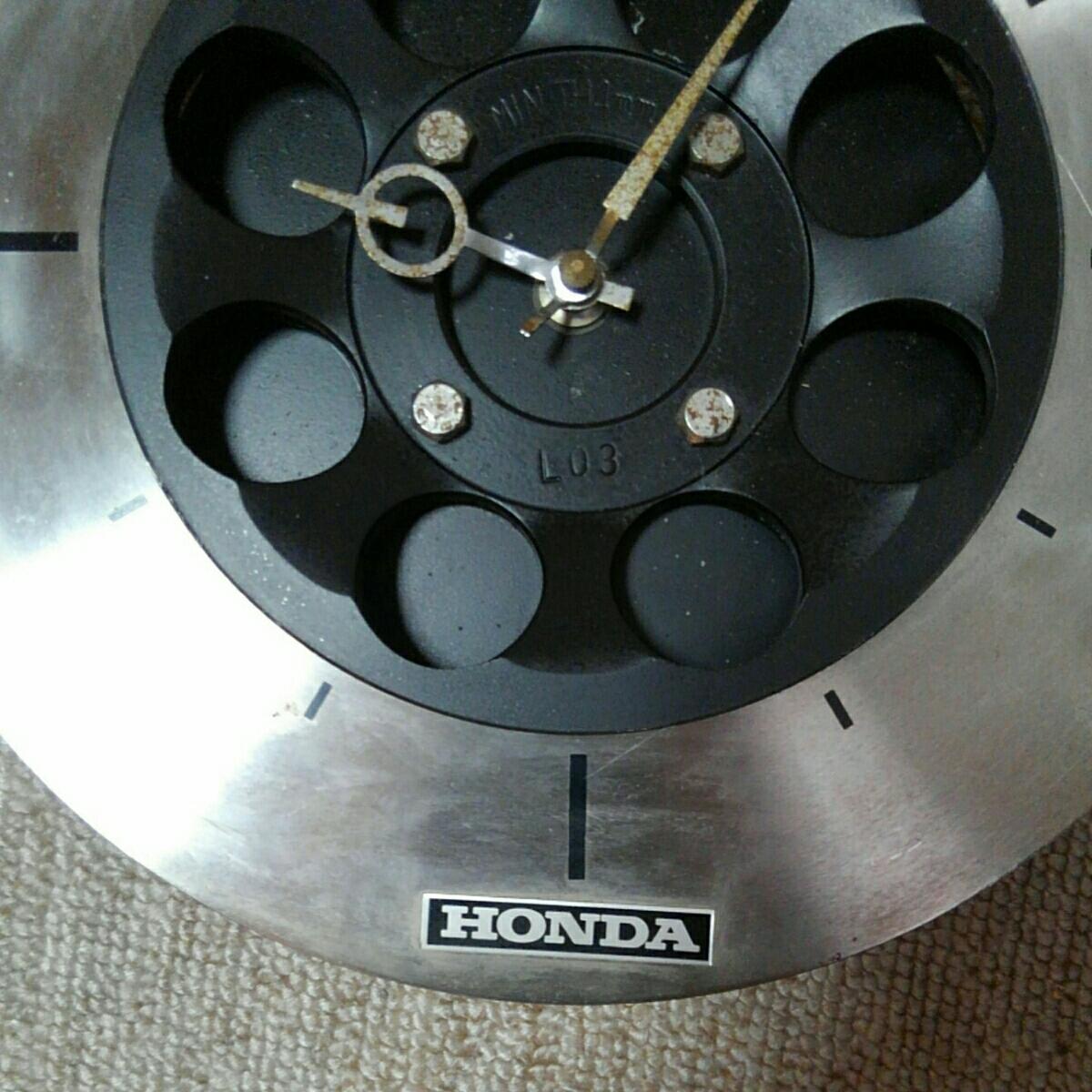 HONDA ホンダ ブレーキ ローター ディスク ブレーキ 時計 重いです ジャンク_画像2