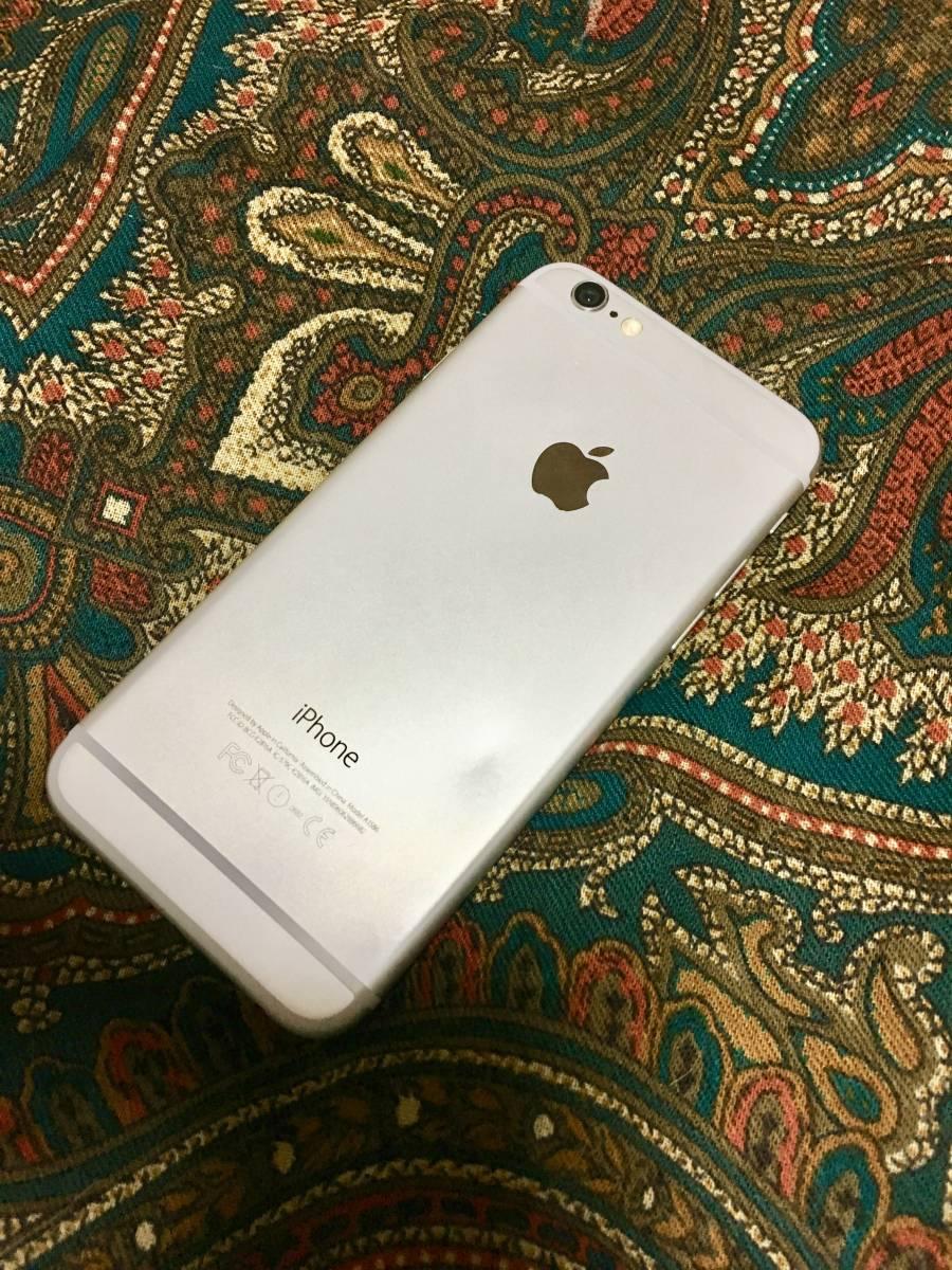 【良品】iPhone6 64G silver バッテリー良好です ケーブルのみ欠品_画像2