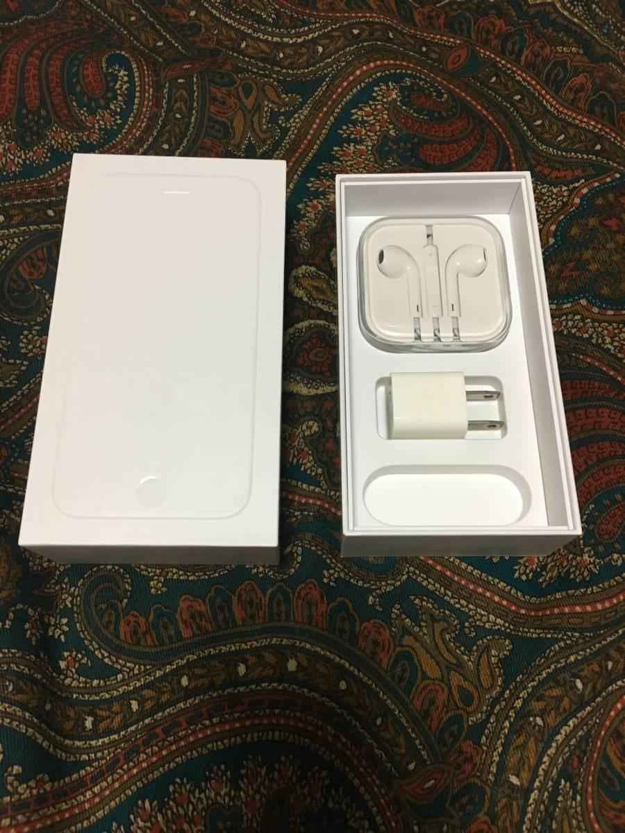 【良品】iPhone6 64G silver バッテリー良好です ケーブルのみ欠品_画像4