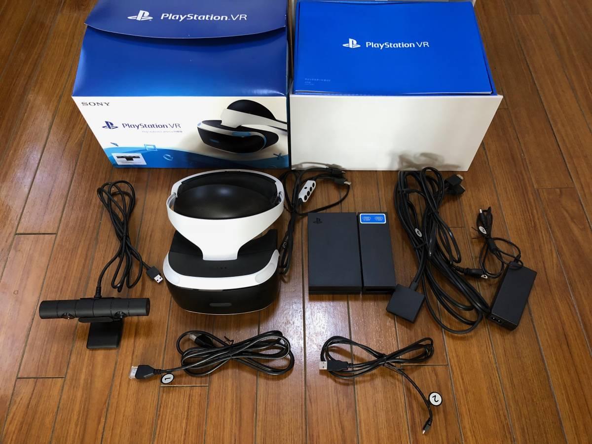 【中古美品】ソニー PlayStation VR カメラ同梱版 CUHJ-16001