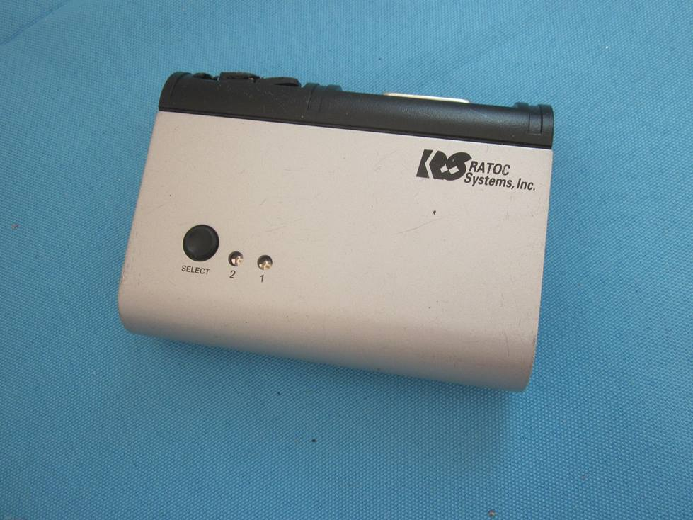 Ratoc パソコン自動切替器 REX-220CUD ★通電OK!ジャンク_画像1