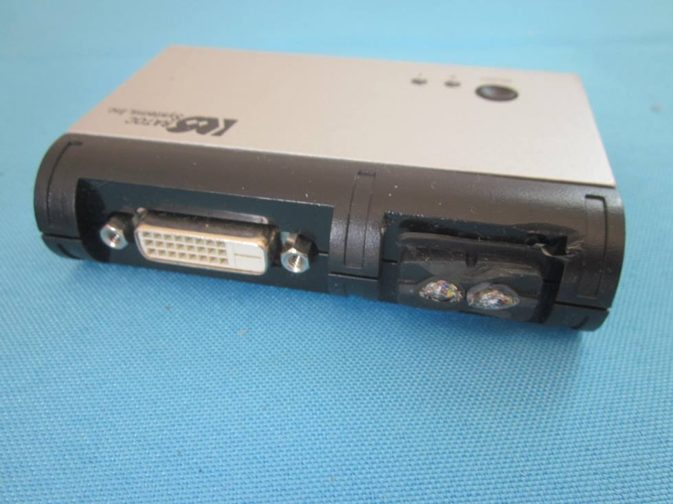 Ratoc パソコン自動切替器 REX-220CUD ★通電OK!ジャンク_画像5