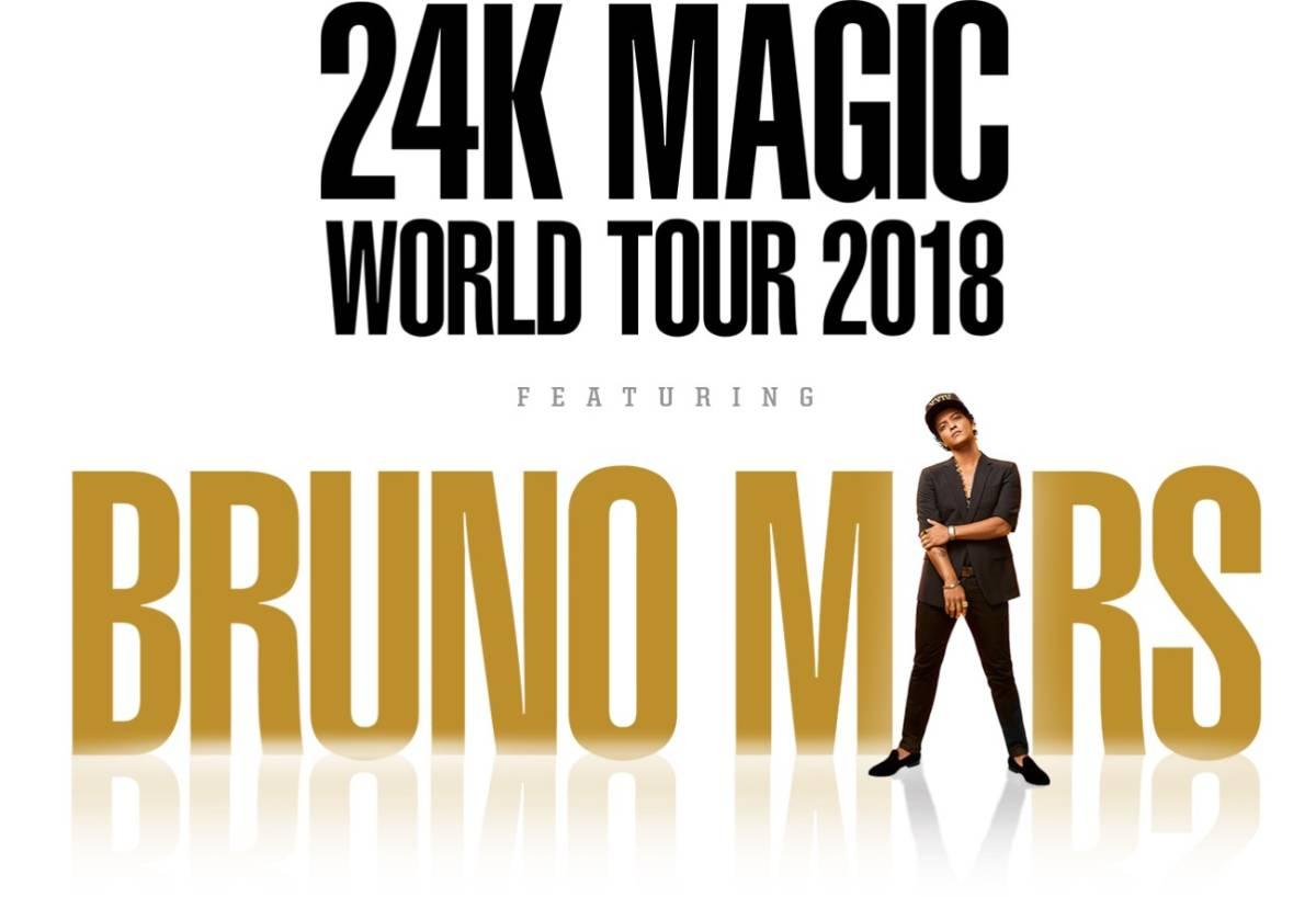 Bruno Mars ブルーノ・マーズ チケット4/14(土)スタンド指定SS席ペア