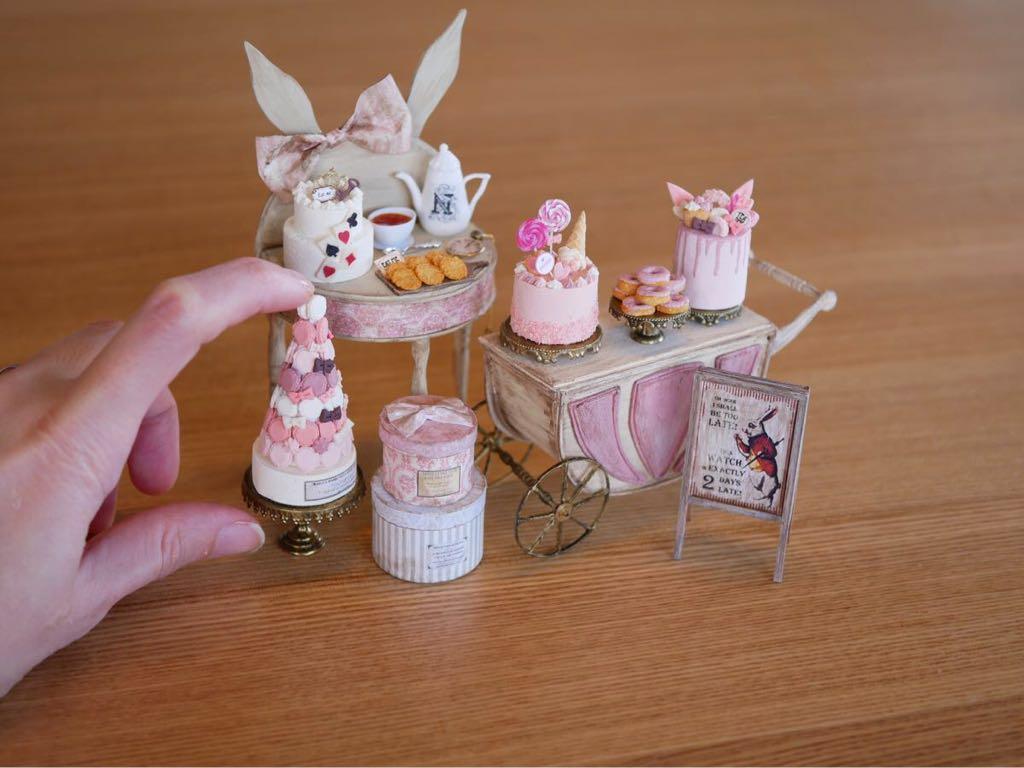 noecoro's【ミニチュア】【ドールハウス】 sweet room in fairy tale._画像9