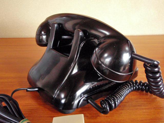★昭和の4号黒電話★整備済み 光回線/モジュラーケーブル延長仕様 骨董_画像9