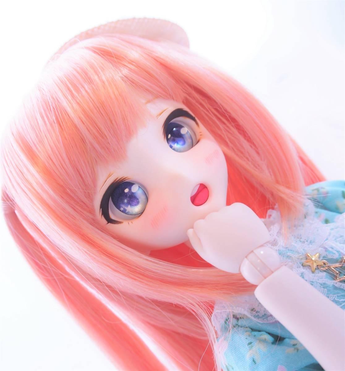 【Miel☆Magical】DDH-10 セミホワイト肌 カスタムヘッド+アイ