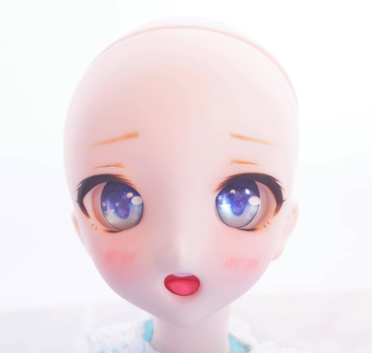 【Miel☆Magical】DDH-10 セミホワイト肌 カスタムヘッド+アイ_画像8
