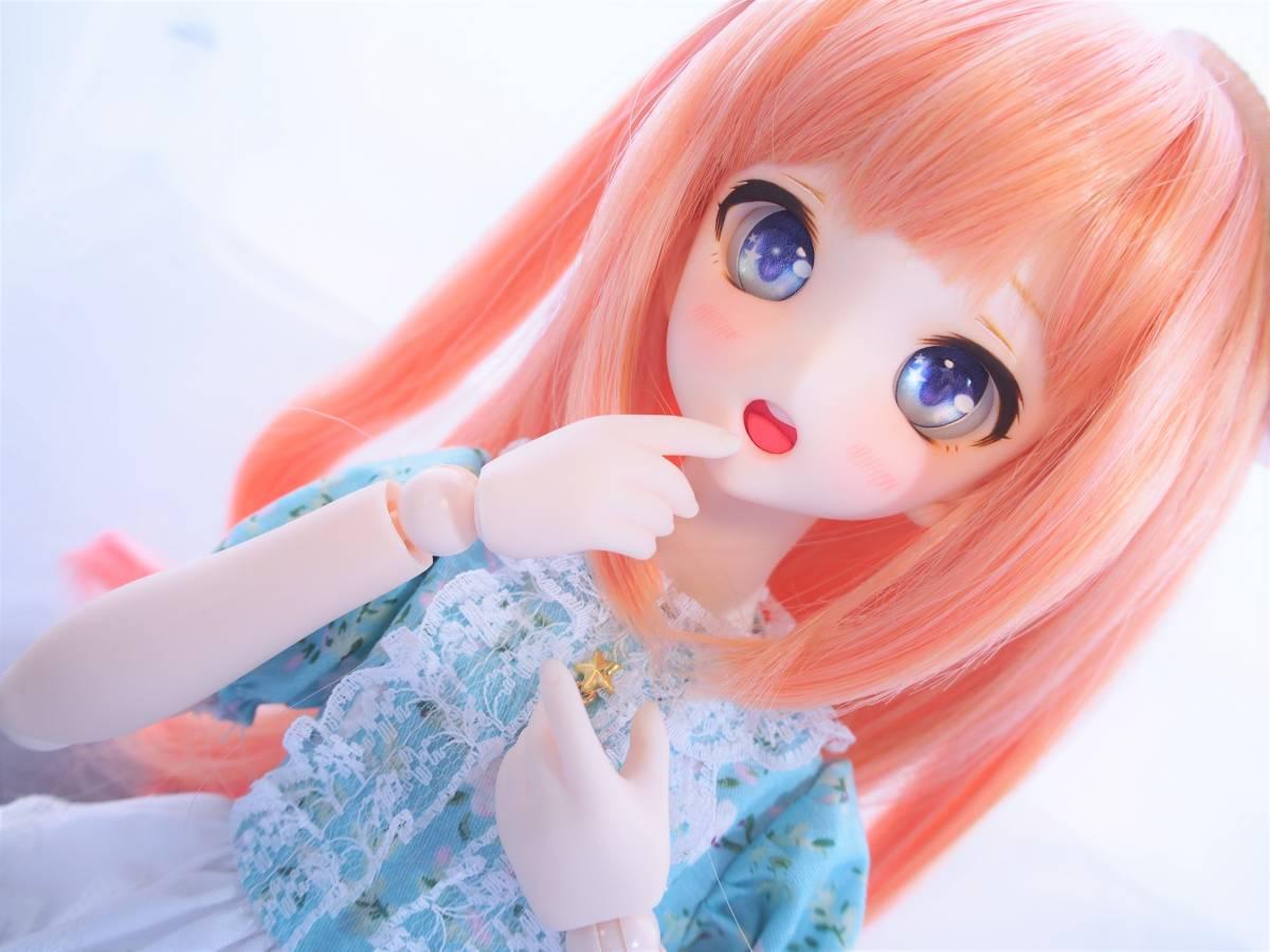 【Miel☆Magical】DDH-10 セミホワイト肌 カスタムヘッド+アイ_画像2