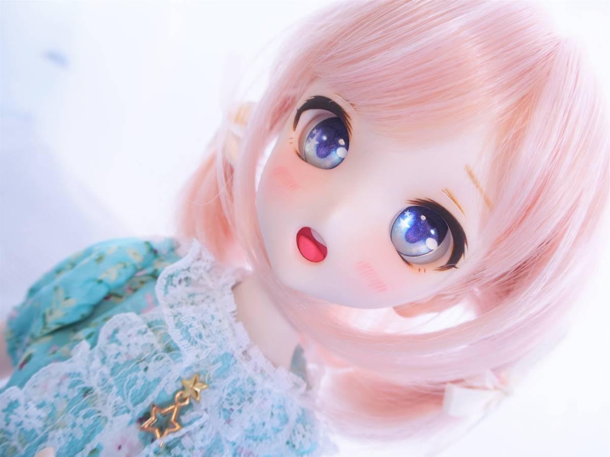 【Miel☆Magical】DDH-10 セミホワイト肌 カスタムヘッド+アイ_画像7