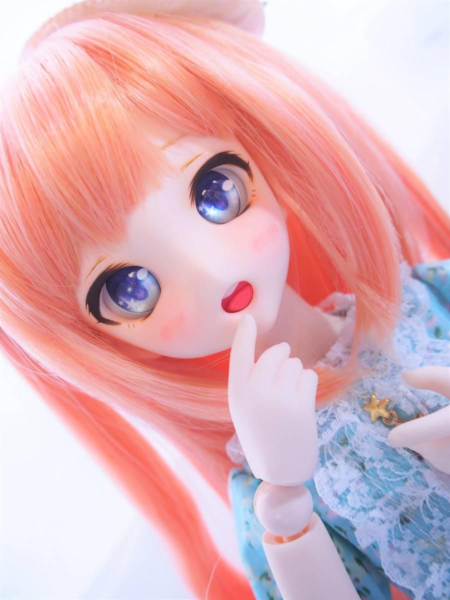 【Miel☆Magical】DDH-10 セミホワイト肌 カスタムヘッド+アイ_画像4