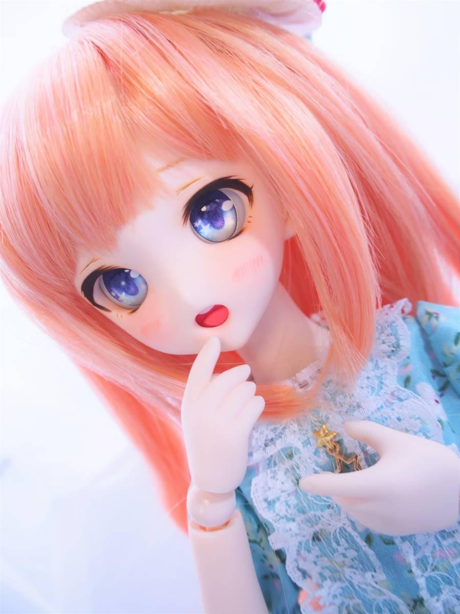 【Miel☆Magical】DDH-10 セミホワイト肌 カスタムヘッド+アイ_画像5