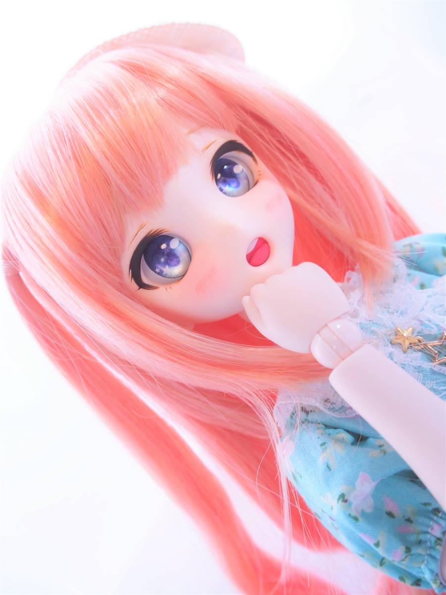 【Miel☆Magical】DDH-10 セミホワイト肌 カスタムヘッド+アイ_画像6