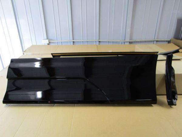 30系 ヴェルファイア モデリスタ アドミレイション 純正サイドスカート 左リヤ 202 ブラック 新品 未使用
