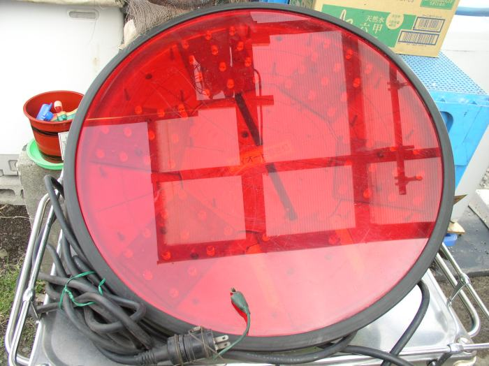 Diode warning light road security supplies security light blinking diode warning light road security supplies security light blinking light construction work reality place 12 light aloadofball Choice Image